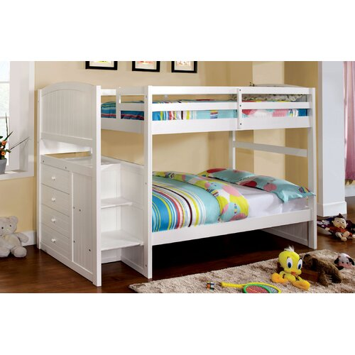 Enitial Lab June Twin Over Twin Bunk Bed