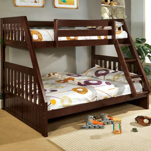Hokku Designs Logan Twin Over Full Bunk Bed & Reviews | Wayfair