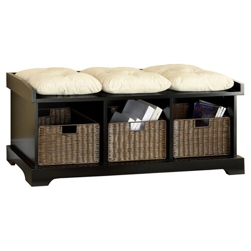 Hokku Designs Upholstered Entryway Storage Bench & Reviews | Wayfair