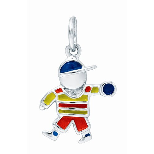 1.4 Grams Sterling Silver Boy Charm