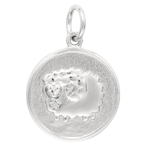 EZ Charms 2 Grams Sterling Silver Aries Charm