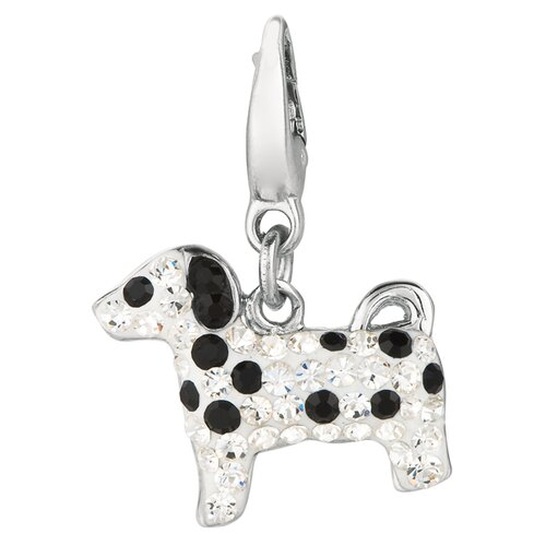 Crystal Dalmation Charm with Swarovski Elements