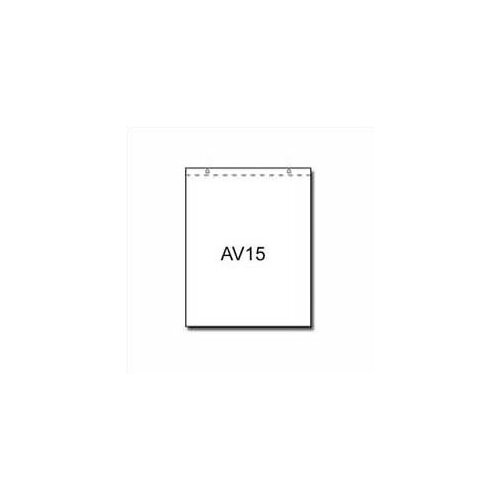 Draper AV15-40 Easel Paper Pad Carton