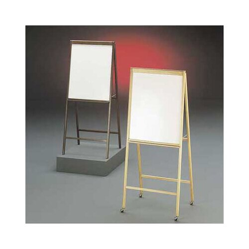 Draper DR Series Magnetic Whiteboard Solid Hardwood A-Frame Easel