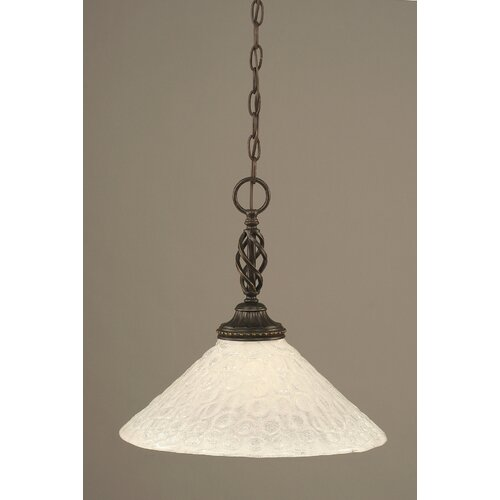 Eleganté 1 Light Pendant