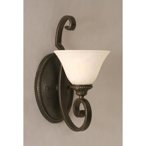 Toltec Lighting Elegante 1 Light Wall Bracket
