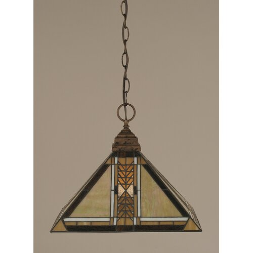 Toltec Lighting 1 Light Pendant