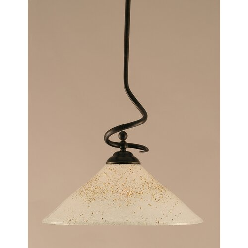 Toltec Lighting Capri 1 Light Pendant