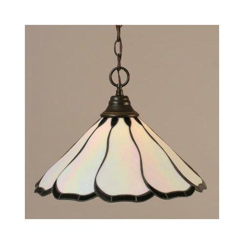 Toltec Lighting 1 Light Downlight Pendant