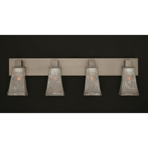Toltec Lighting Apollo 4 Light Bath Bar