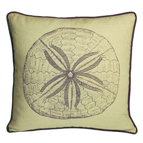 Kevin O'Brien Studio Sand Dollar Decorative Pillow