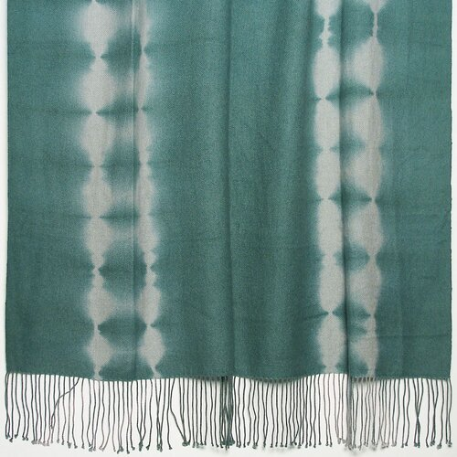 Shibori Tye-Dye 2-Ply Cashmere / Merino Throw
