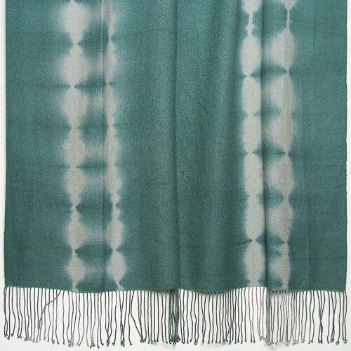 Kevin O'Brien Studio Shibori Tye-Dye 2-Ply Cashmere / Merino Throw