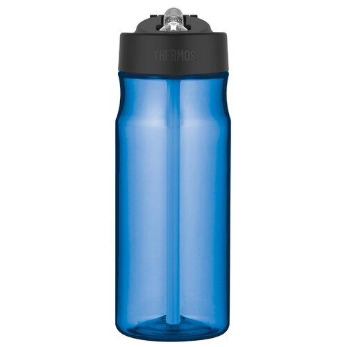 18 Oz. Hydration Water Bottle with Built in Straw