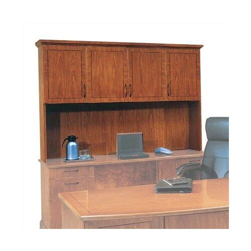 "DMI Office Furniture Belmont 50"" H x 74.5"" W Lighted Desk Hutch"