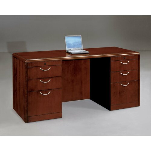 DMI Office Furniture Summit Cope Executive Desk (