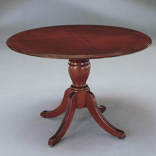 "DMI Office Furniture Keswick 48"" Round Queen Anne Gathering Table"