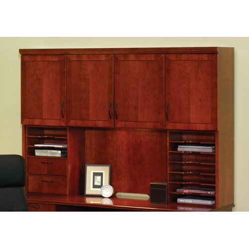 "DMI Office Furniture Belmont 50"" H x 72"" W Desk Hutch with Organizers"