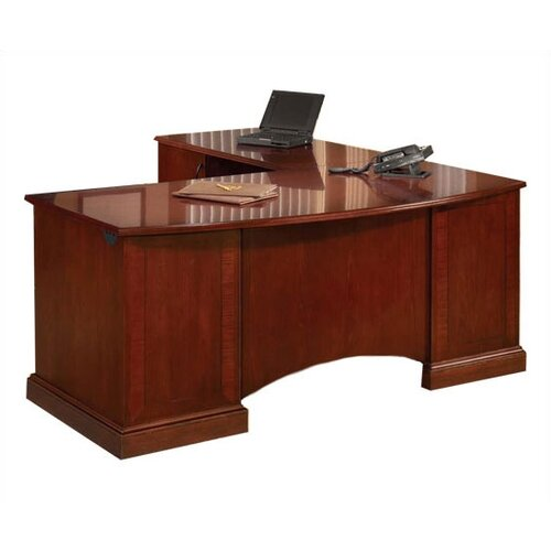 DMI Office Furniture Belmont L-Shape Computer Desk with Return