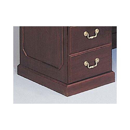 DMI Office Furniture Governor's L-Shape Reception Desk with Left Return