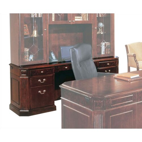 Oxmoor Kneehole Credenza with out Return Moulding
