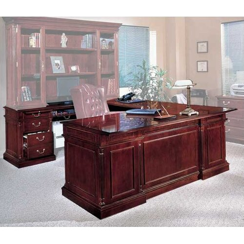DMI Office Furniture Keswick Executive U-Shape Desk with Right Return