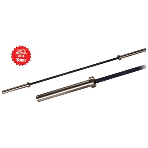 York Barbell 7FT North American Black Oxide Bar