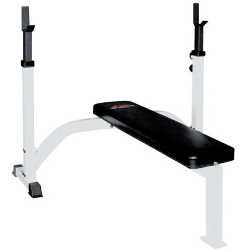 Fixed Flat Olympic Bench