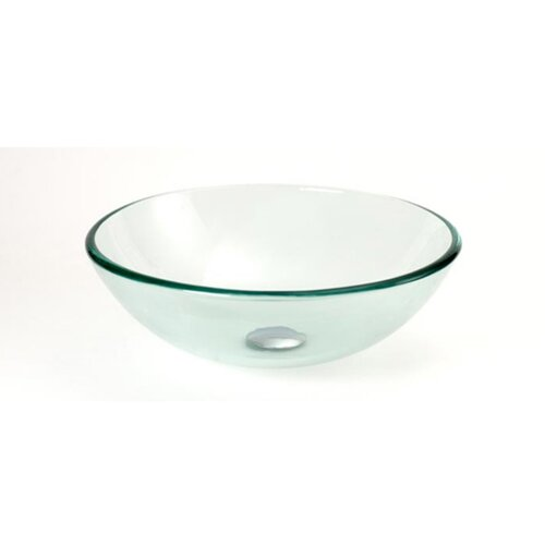 Round Glass Vessel Sink