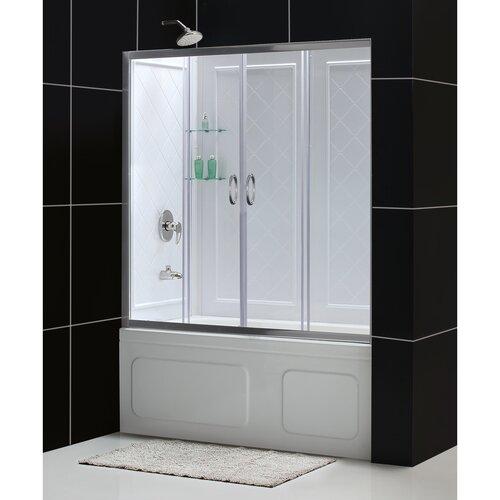 Dreamline Visions Sliding Door Shower Enclosure