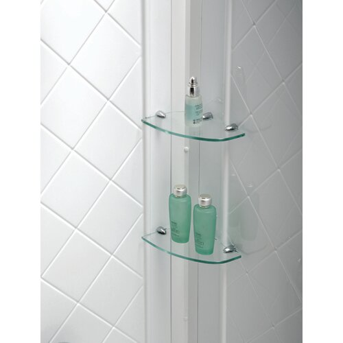 Dreamline SlimLine Quarter Round Floor Shower Enclosure