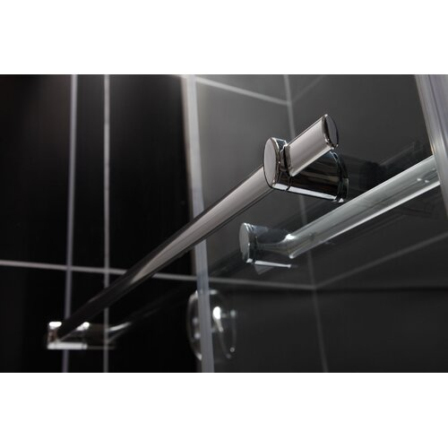 "Dreamline Duet 56 to 59"" Frameless Bypass Sliding Tub Door"
