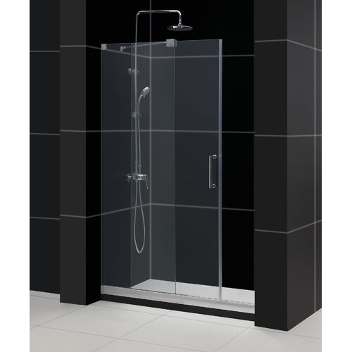 "Dreamline Mirage 44"" - 48"" Frameless Sliding Shower Door"