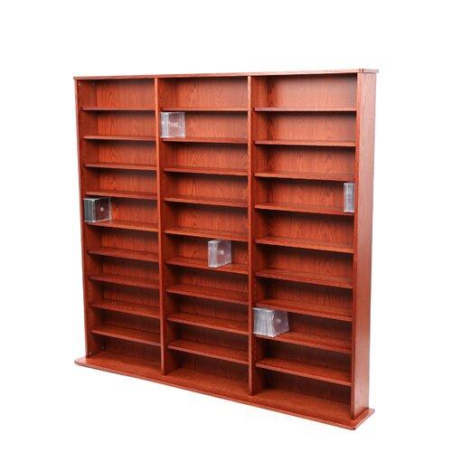 Deluxe Multimedia Storage Rack