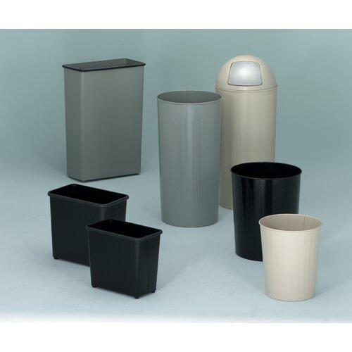 Witt Metal Series Tall 20-Gal Round Waste Baskets