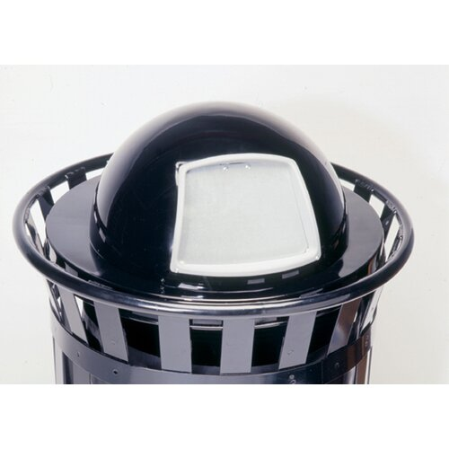Witt Stadium Series SMB Round 24 Gallon Receptacle with Dome Top Lid