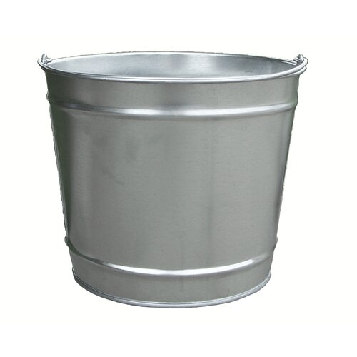 Witt 10 Quart Galvanized Steel Pail
