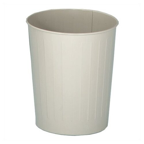 Witt Metal Series 6.5-Gal Round Waste Basket
