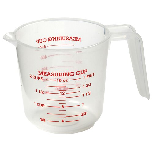 Norpro 2 cup plastic measuring cup amp reviews wayfair