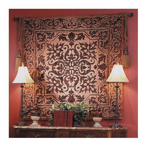 Fine Art Tapestries Geometric Iron Work by Acorn Studios Tapestry