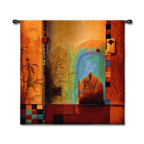 Fine Art Tapestries Abstract Garden Ensemble by Don Li-Leger Tapestry