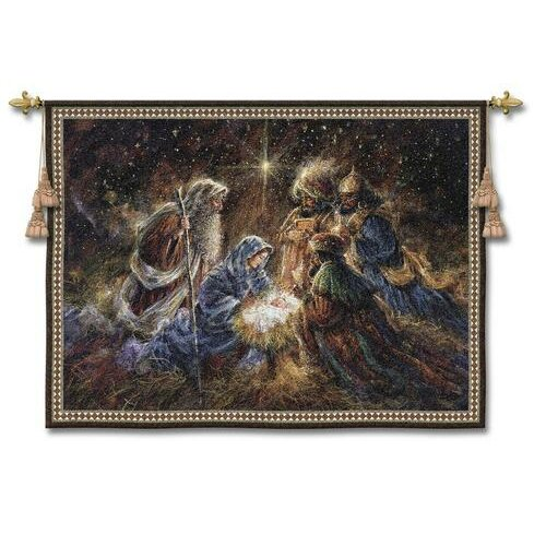 Fine Art Tapestries We Three Kings Tapestry