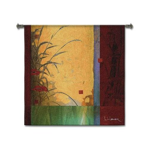 Fine Art Tapestries Dancing in the Wind BW Tapestry