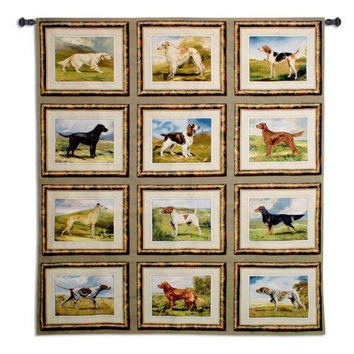 Fine Art Tapestries Sporting Dogs Tapestry