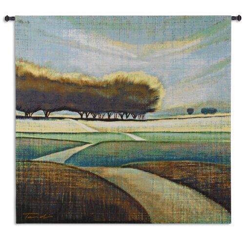 Fine Art Tapestries Looking Back II by Tandi Venter Tapestry