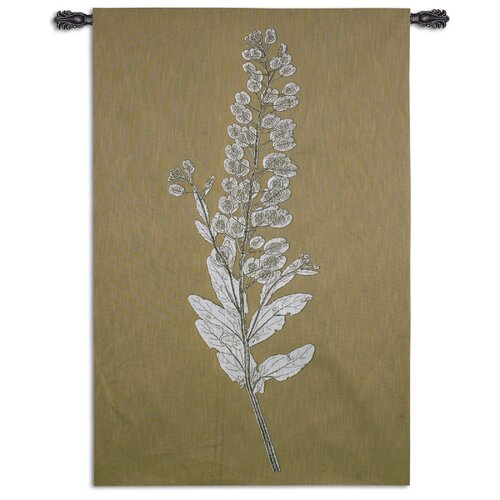 Fine Art Tapestries Taupe Nature Study III Tapestry