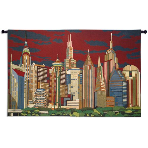 Fine Art Tapestries Cityliners Tapestry
