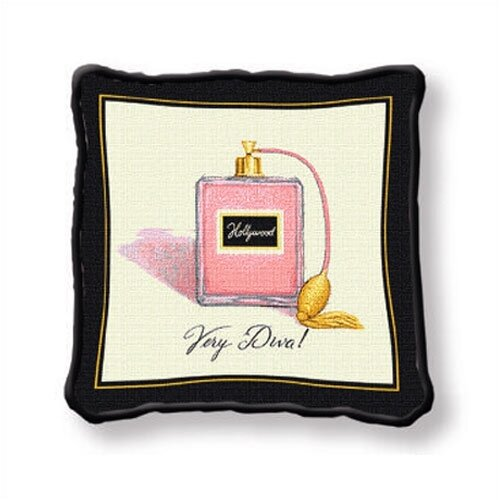 Fine Art Tapestries Very Diva Pillow
