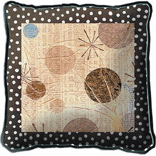 Fine Art Tapestries Mondo Dotz I Pillow