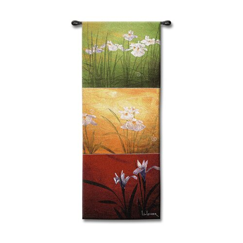 Fine Art Tapestries Abstract Karma by Don Li-Leger Tapestry